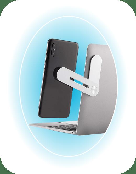 laptop phone holder detail-01